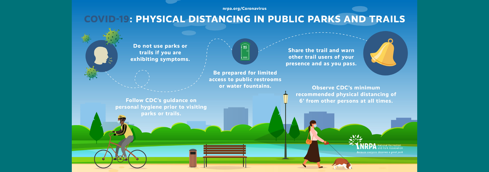 nrpa social distancing in parks - english